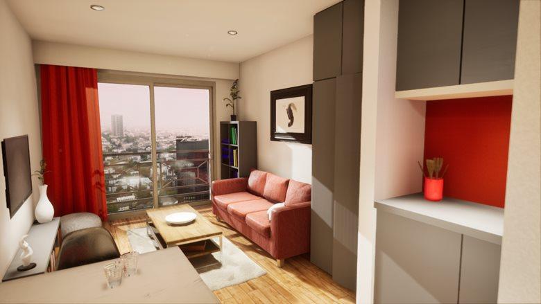 Studio Apartament – Interior & Video