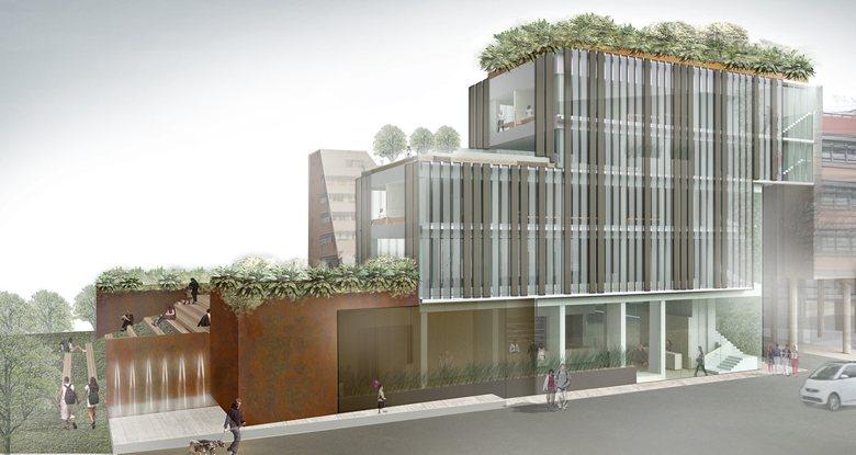 Concorso di idee per la progettazione di edificio polifunzionale con annesso parcheggio ad uso pubblico e privato.