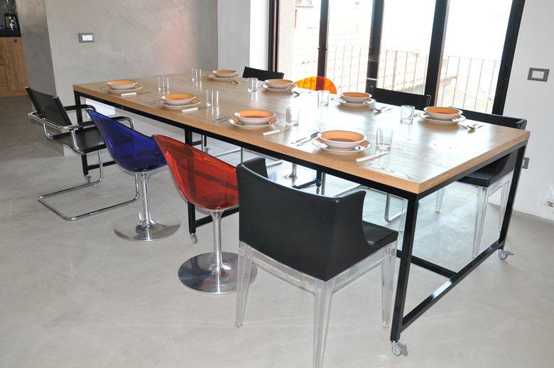 Wood&Steel table