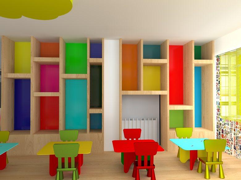 Interior Design Of A Nursery Classroom Eftichia Barlou,Scandinavian Design Desktop Wallpaper