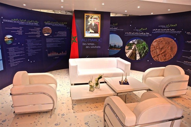 Stand d'exposition MAROC
