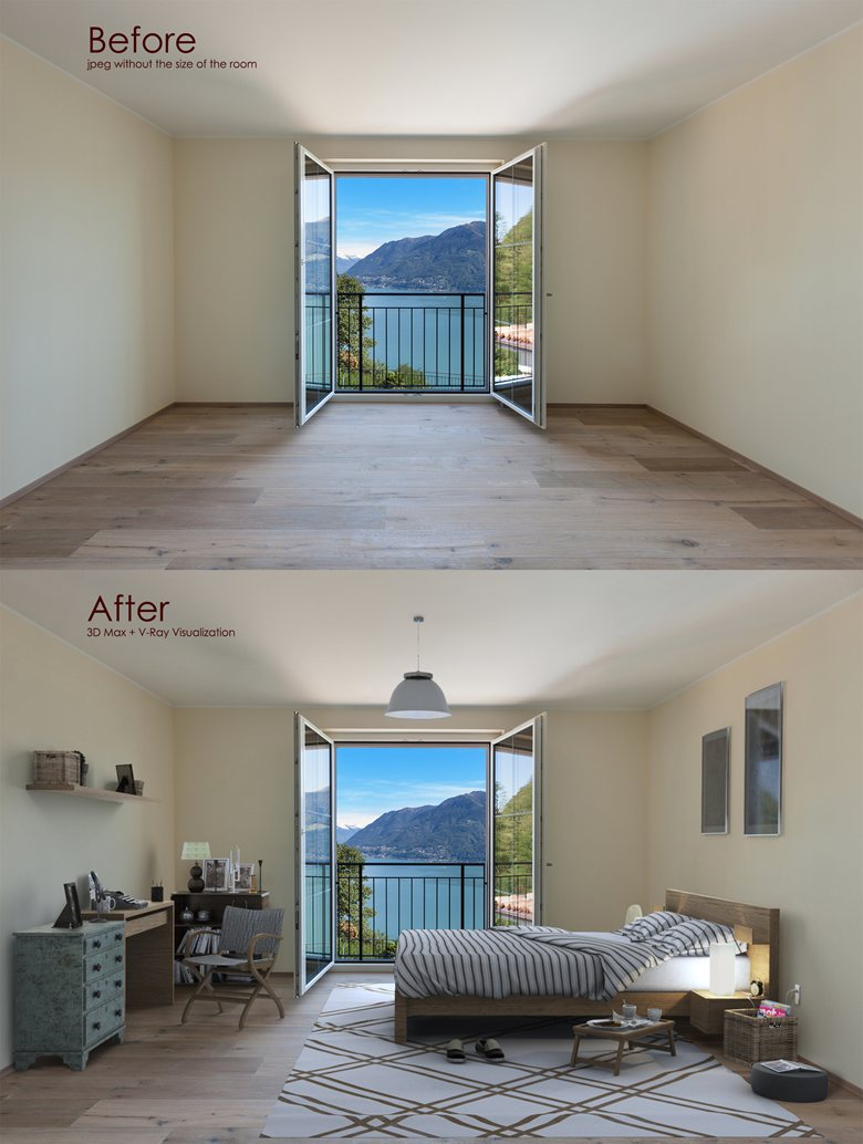 Virtual Staging, Furniture Replacement