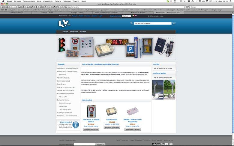 e-commerce Lorix.com