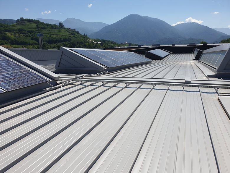 Stabilimento Sant'Orsola Pergine (TN) - New Factory Sant'Orsola Pergine Valsugana (Italy)