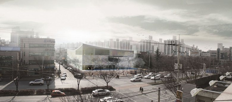 Lights of the Valley Forest | Public Library, Daegu-Gosan