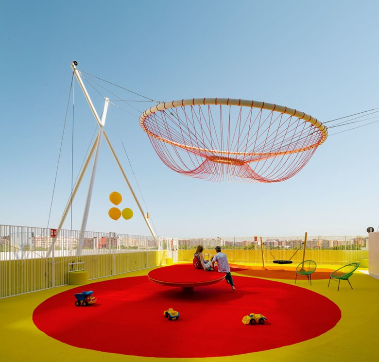 Roof Playground in Valencia