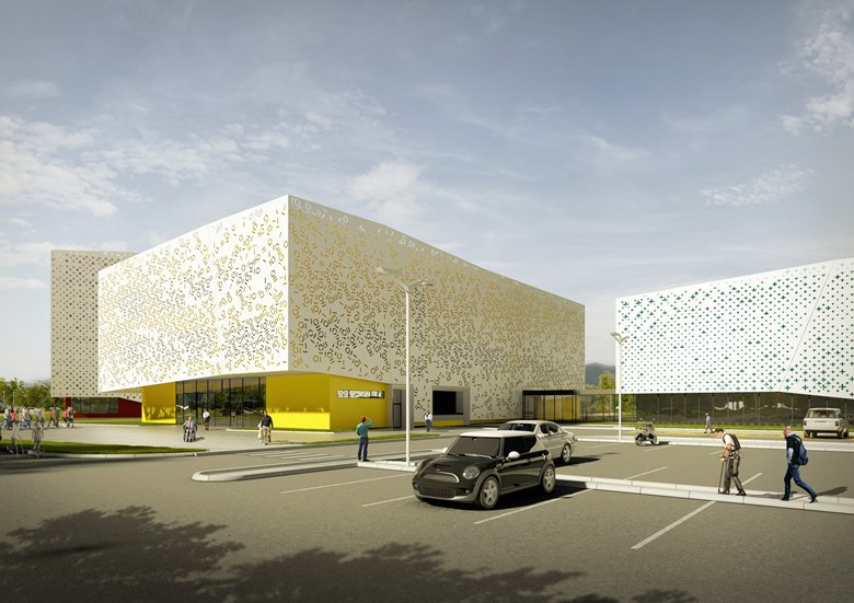 Regional sports and recreation complex for people with disabilities