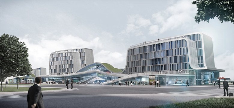 Urban development of the Science park for Mobility