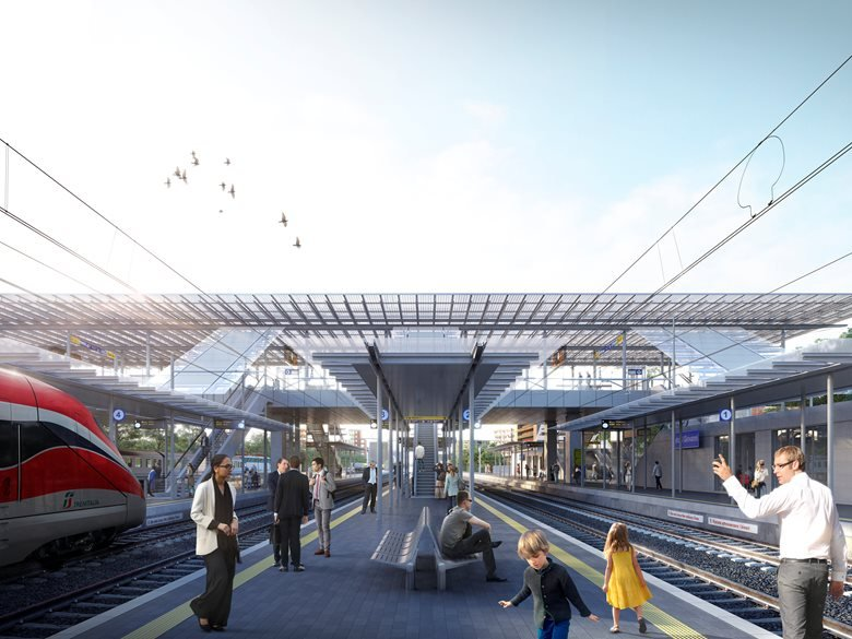 AREA EX FALCK – RAILWAY STATION