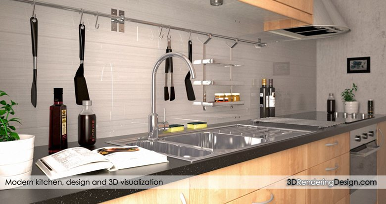 Photorealistic Ikea Kitchen 3d - Picture gallery