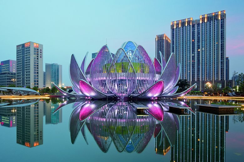 The Lotus Exhibition Centre and People's Park