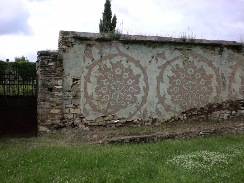 Country old wall