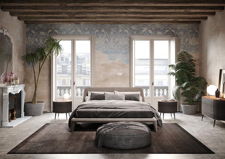 Personale proposta camera da letto vintage | Tiziano Nespoli