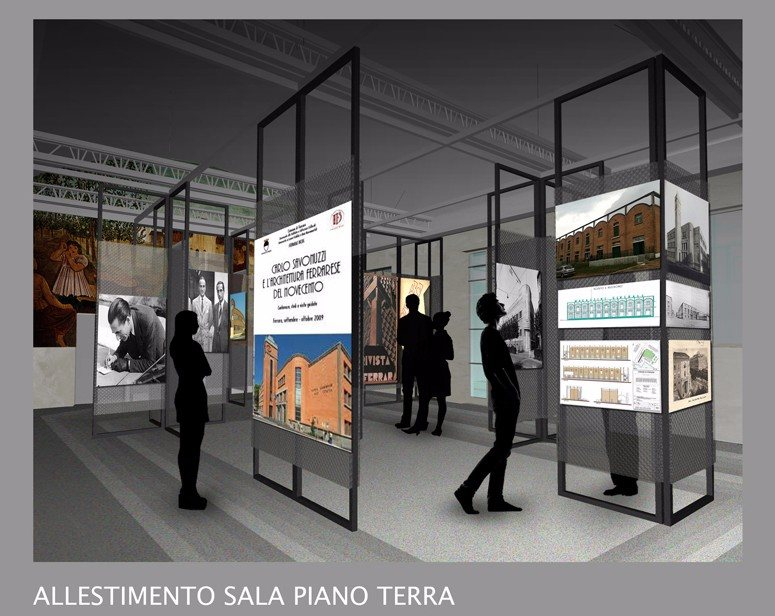 """Ripristino Palazzina ex MOF sede dell'Ordine degli Architetti e UrbanCenter di Ferrara (Restoring """"Palazzina ex MOF"""" in Ferrara)"""