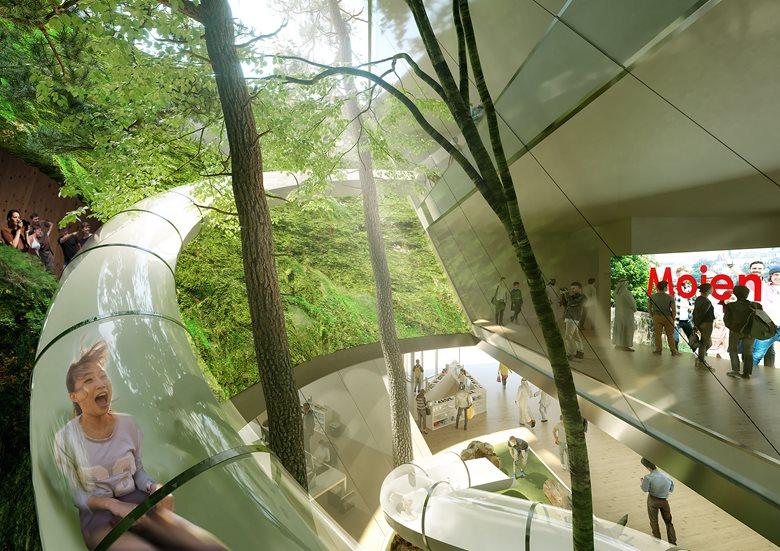 expo glass slide