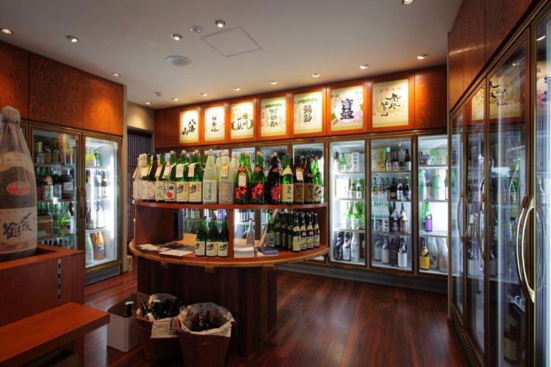 Japanese sake shop