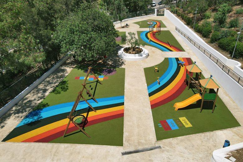"""Rainbow"", playground"