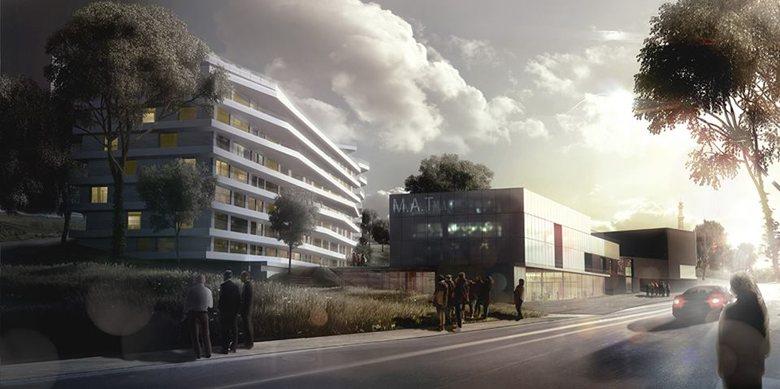 Concours - La Maison de l'Architecture à Tanger // 3ème prix - Yasmine El Kasri + Sophia Sebti
