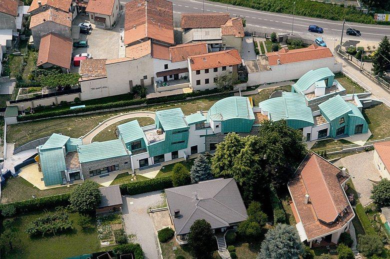 Swing House - Dieci abitazioni a Ruginello (MI)