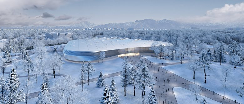ICE OVAL FOR BEIJING 2022 OLYMPICS