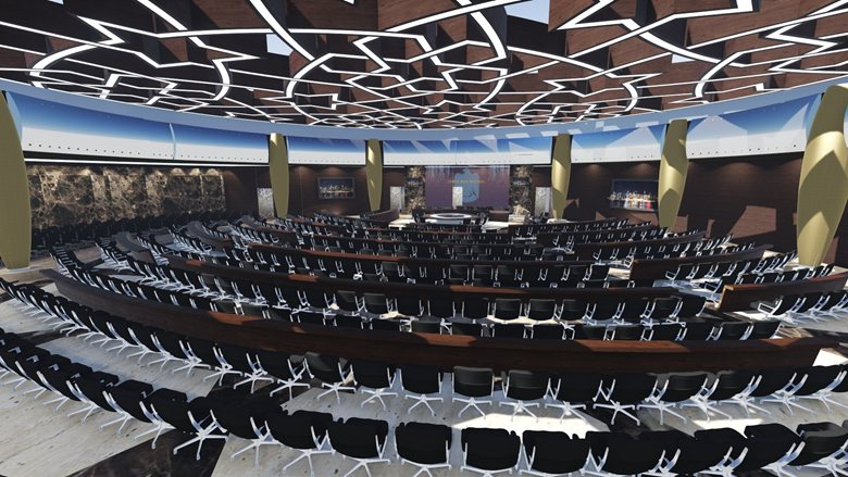 Conference Hall at European Headquarters - United Arab of Emirates