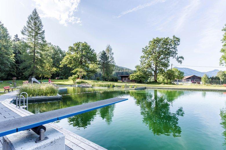 Public natural water swiming pool – 2015