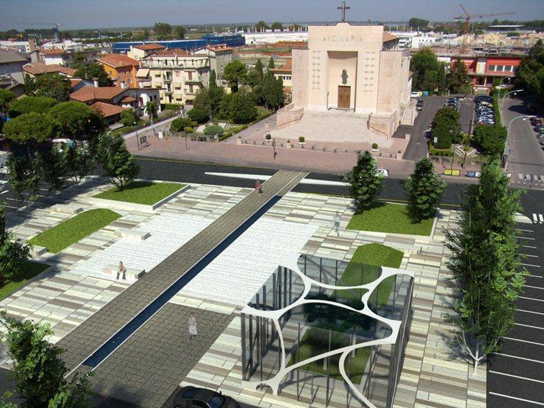 progetto piazza Trieste Jesolo