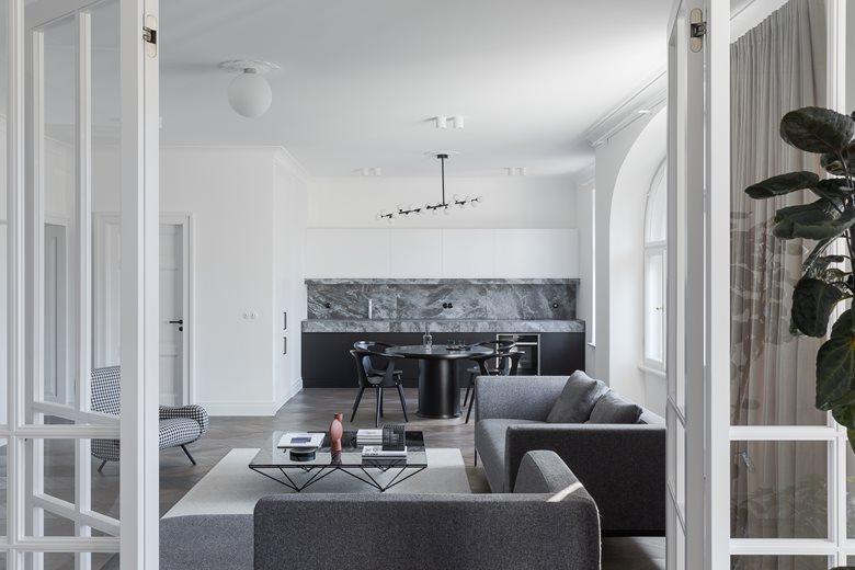 Apartment interior in Slokas street, Riga | AKTA