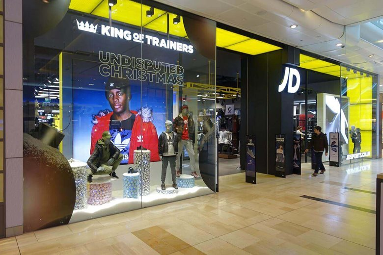 Toughened Glass Shopfronts For Kings of Trainers
