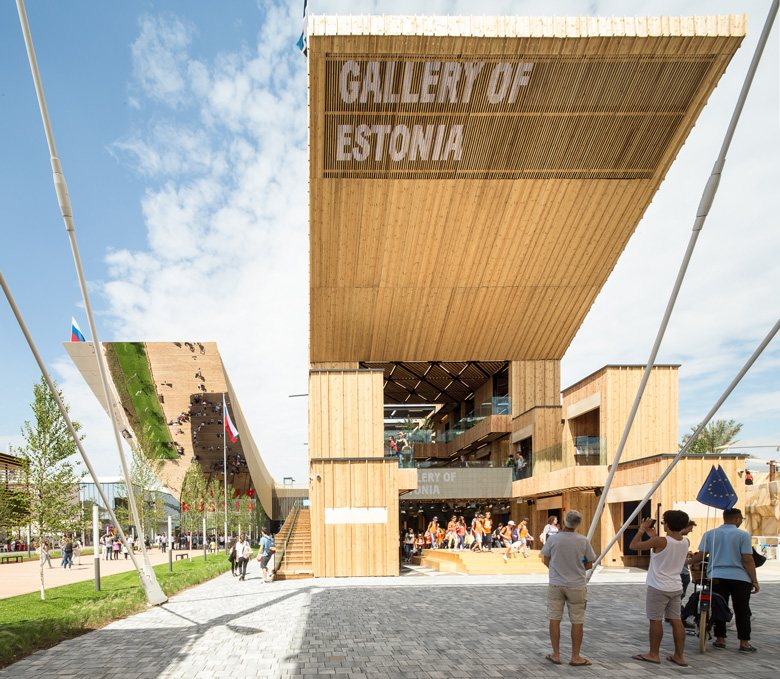 Estonia Pavilion at Expo Milano 2015