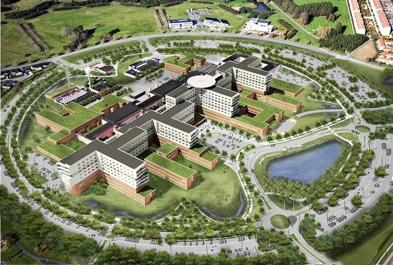 Expansion of the Zealand University Hospital in Denmark