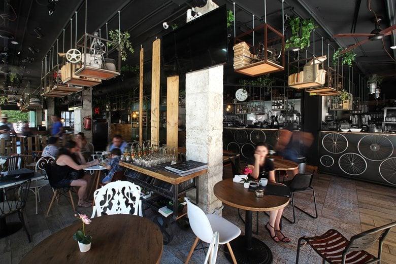 Architecture and interiorism Restaurant project in Salou - Boca Boca Restaurant