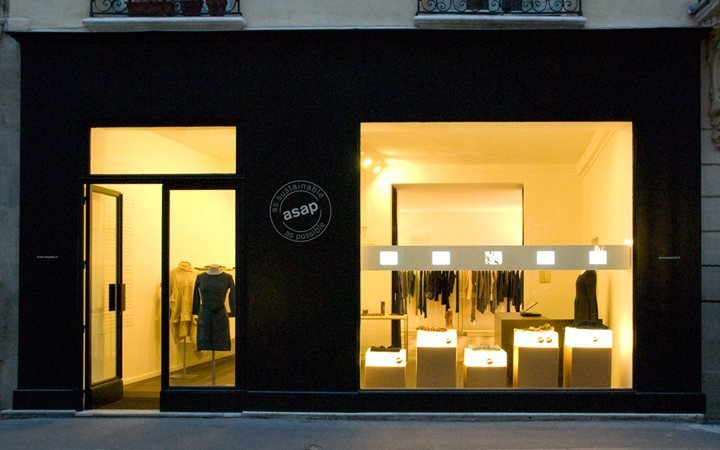 ASAP as sustainable as possible flagship store in Paris