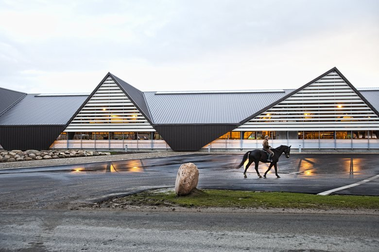 Vejlskovgaard - an agricultural building of the future