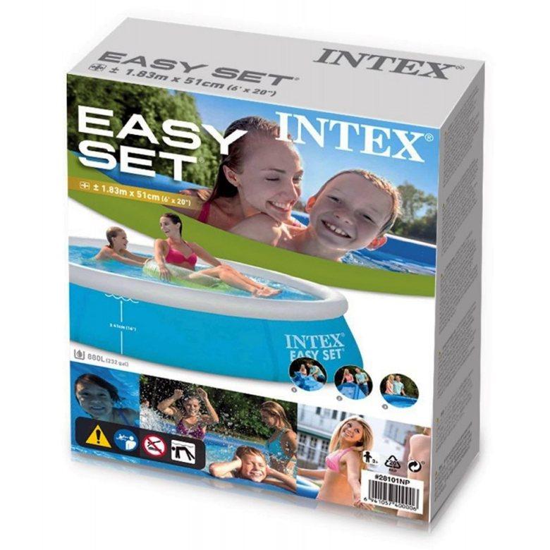 Intex Easy Set 183x51 - la piscina gonfiabile  su BricoCasa.net