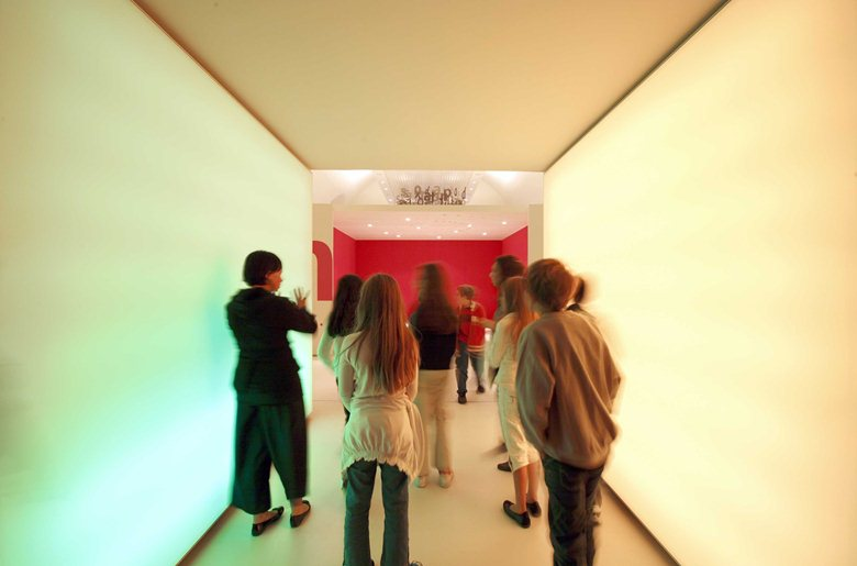 Progetto di allestimento del Laboratorio d'Arte_Palazzo delle Esposizioni