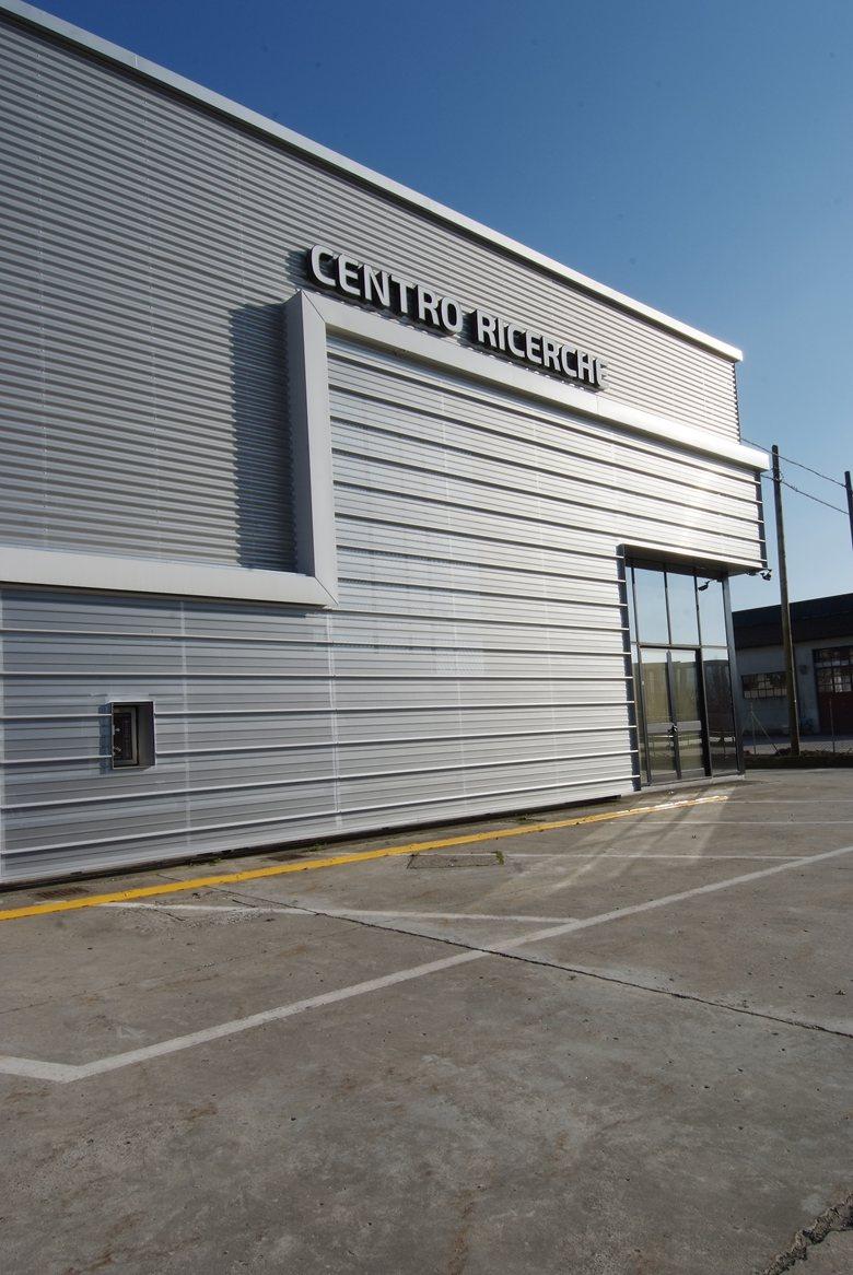 Ristrutturazione facciata Centro Ricerche Immergas