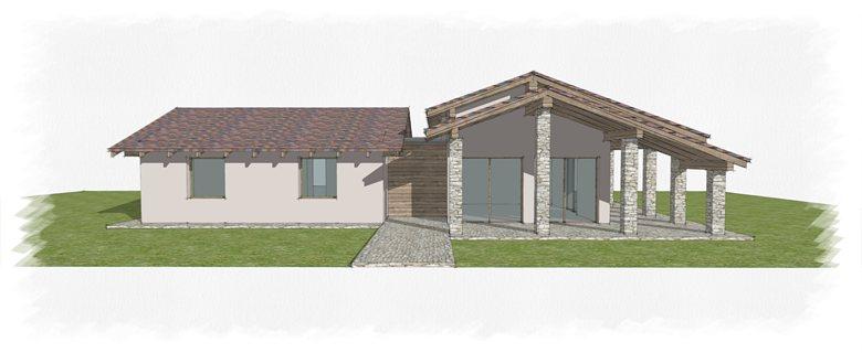 Villa Singola - Progetto Preliminare