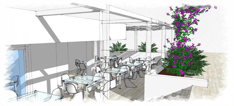 Progetto riqualificazione ed ampliamento Hotel La Darsena