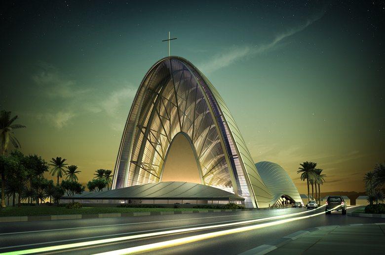 Catholic church of the transfiguration | DOSarchitects