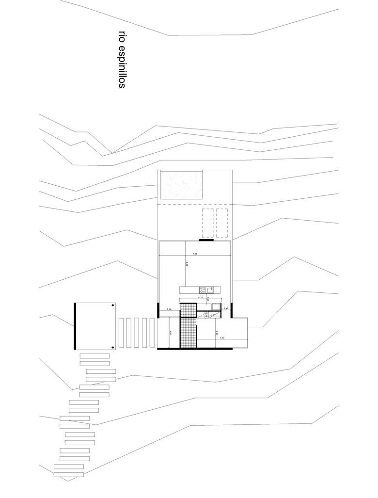 Proyecto casa sobre Rio Espinillos