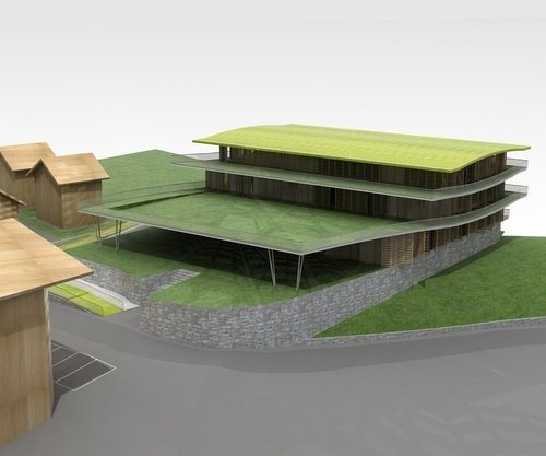 Concorso di idee per la realizzazione di un centro polifunzionale a Sappada (BL).