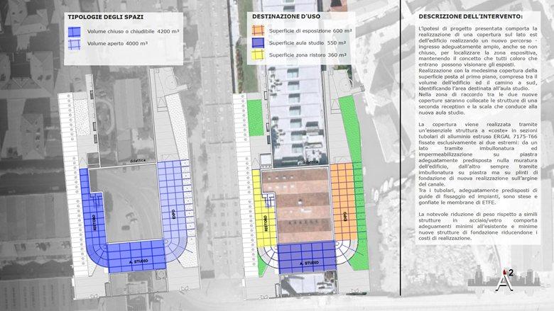 New Spaces - University of Architecture - Venice - E.T.F.E. Project