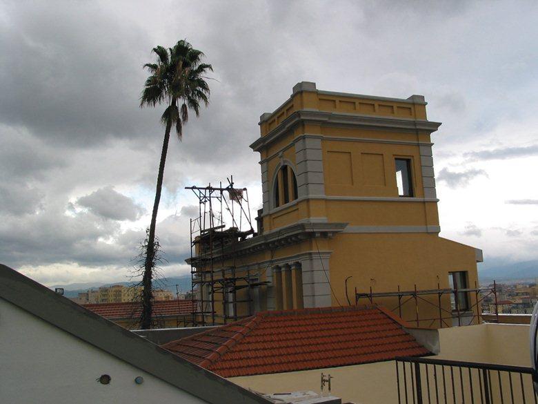 ristrutturazione ex villa atzeri in Cagliari