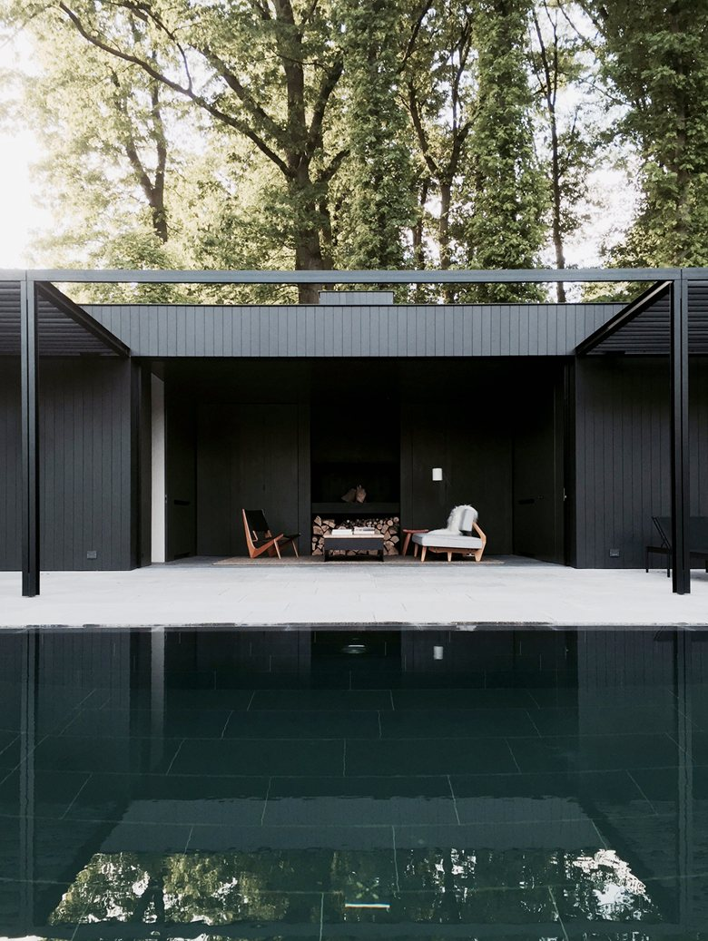 CD Pool house