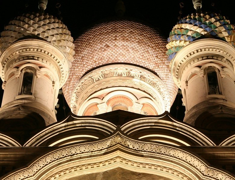 Russian Orthodox church of Cristo Redentore and Santa Caterina