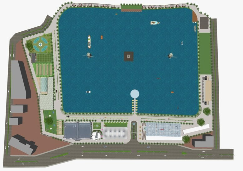 Thane Lake Front View Project