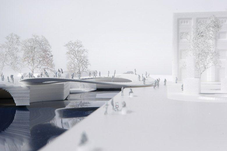 German Freedom and Unity Memorial Bridge