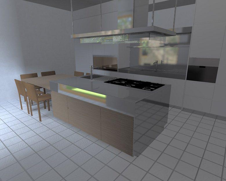 Progetto Cucina Arclinea Convivium | ITALMOBILI