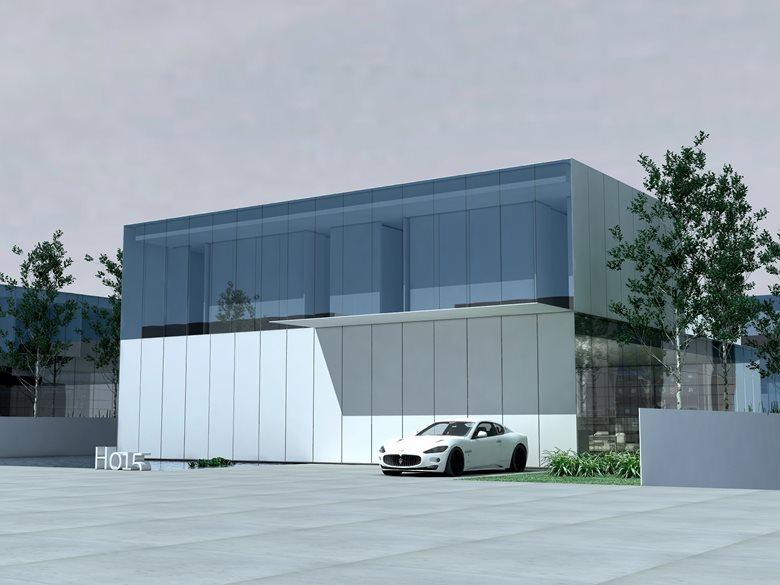 Simple house 1 - minimal new housing